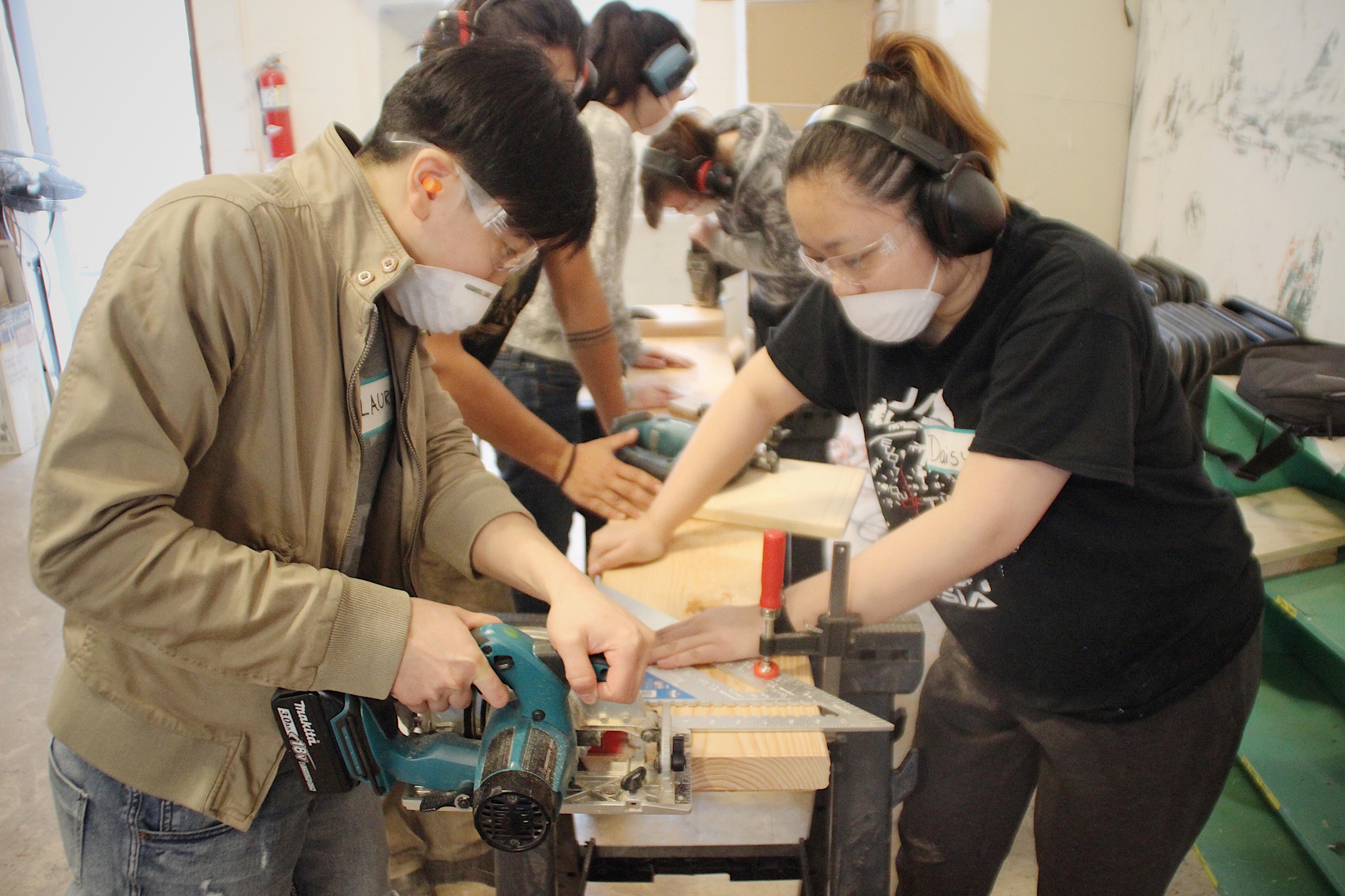 NYC Woodworking Makita Skillsaw 2